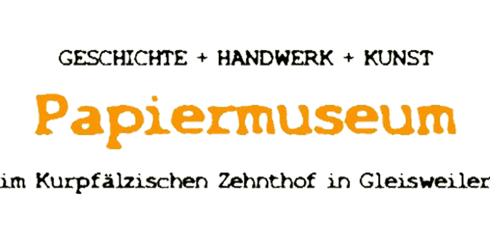 www.papiermuseum-gleisweiler.de